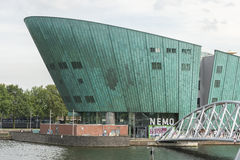 Nemo museum in Amsterdam Royalty Free Stock Photos