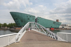 Nemo museum in Amsterdam Stock Photography