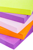 Memo Note on Stack of Postits Stock Images
