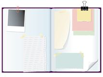 Memo notebook Stock Images