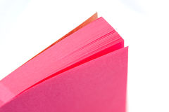 Memo pad Royalty Free Stock Photo