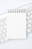 Memo pad Royalty Free Stock Photos