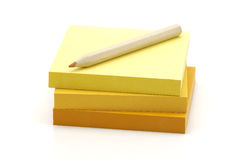 Memo Paper stock photography