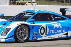 Memo Rojas races the BMW Stock Photo