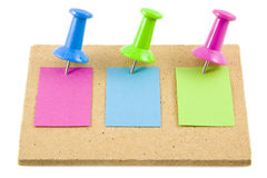 Memo's in color Royalty Free Stock Images