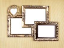 Memoeies em frames de retrato Foto de Stock