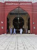 Memon Masjid卡拉奇 免版税图库摄影