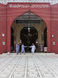 Memon Masjid Karachi Royaltyfri Fotografi
