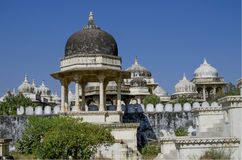 Memorable construction  monument in the form of a dome and the temple Stock Image