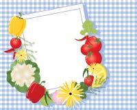 Memorando da cozinha Fotos de Stock
