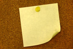 Memorandum met de Ruimte van het exemplaar. Stock Foto's