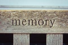 Memoria fotografía de archivo