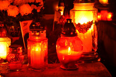 Memoria contro i deceaseds Fotografia Stock
