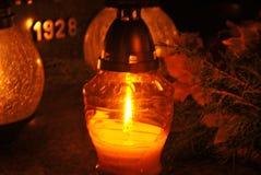 Memoria contro i deceaseds Fotografie Stock
