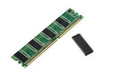 Memoria de computadora Imágenes de archivo libres de regalías