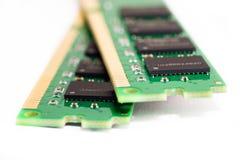 Memoria de computadora DDR3 Imágenes de archivo libres de regalías