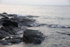 Memoria de la playa el vacaciones de verano fotos de archivo libres de regalías