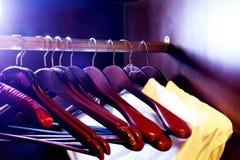 Memoria dei vestiti - ganci Fotografia Stock Libera da Diritti