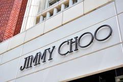 Memoria del Jimmy Choo fotografia stock