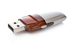 Memoria del mecanismo impulsor de la pluma del USB Fotos de archivo