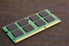Memoria del ordenador portátil Imagen de archivo libre de regalías