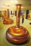 Memoria della birra del corridoio del fabbricante di birra della birra del Pilsner Urquell Fotografia Stock