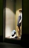 Memoria della finestra alla notte Fotografia Stock Libera da Diritti