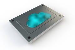 Memoria della nube Immagini Stock