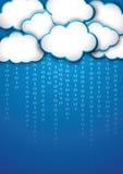 Memoria della nuvola Immagine Stock Libera da Diritti