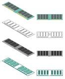 Memoria di calcolatore illustrazione vettoriale