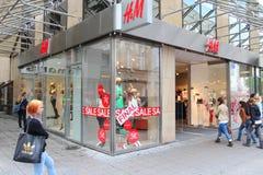 Memoria di modo di H&M Fotografia Stock Libera da Diritti