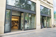 Memoria di Zara Fotografie Stock