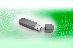 Memoria Flash del USB stock de ilustración