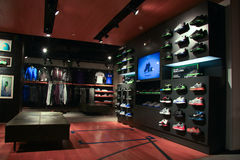 Memoria Nike Fotografia Stock