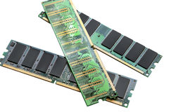 Memoria para el ordenador Fotos de archivo