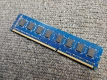 Memoria ram de para el ordenador fotos de archivo