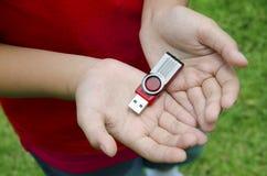 Memoria USB Imagen de archivo libre de regalías