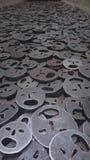 Memoria vuota, museo ebreo, Berlino Immagini Stock