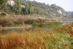 Memoria Zhengzhou di autunno fotografia stock libera da diritti