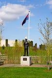 Memoriais das forças armadas e da polícia militar no arboreto memorável nacional, Alrewas Imagens de Stock Royalty Free