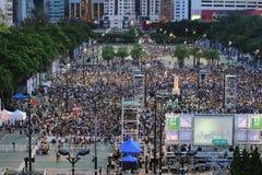 memoriais do  do 〠para os protestos da Praça de Tiananmen de 1989 Foto de Stock Royalty Free