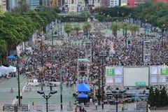 Memoriais para os protestos da Praça de Tiananmen de 1989 Fotos de Stock