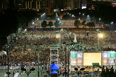 Memoriais para os protestos da Praça de Tiananmen de 1989 Foto de Stock Royalty Free