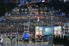 Memoriais para os protestos da Praça de Tiananmen de 1989 Imagens de Stock Royalty Free