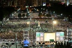 Memoriais para os protestos da Praça de Tiananmen de 1989 Fotografia de Stock Royalty Free