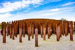 Memorial à revolução de 1956 Hungarian, Budapest imagens de stock