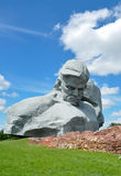 Memorial. Monument to soldiers in the Brest fortress Stock Photography