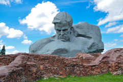 Memorial. Monument to soldiers in the Brest fortress Stock Photo