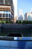 Memorial 911 Imagem de Stock