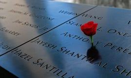 9-11 memorial Fotografia de Stock